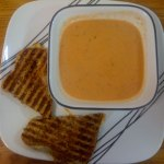 tomato soup & grilled cheese