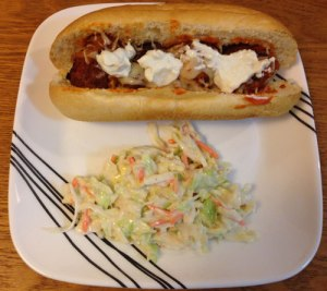 Buffalo Meatball Subs
