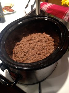 Loose Meat in crock
