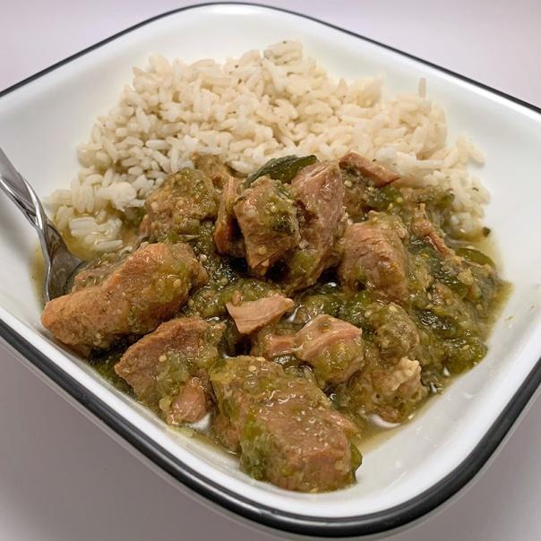 Pork Verde Poblanos